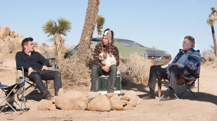 Colin Farrell, Sam Rockwell, and Christopher Walken in Seven Psychopaths