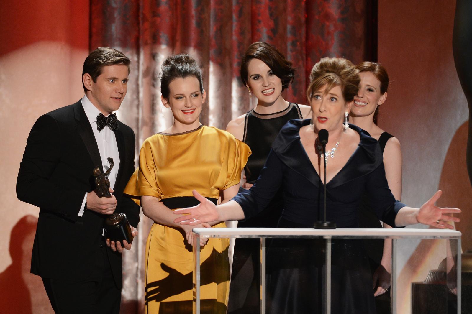Downton Abbey at 2013 SAG