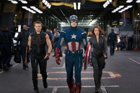 Hawkeye, Captain America, Black Widow