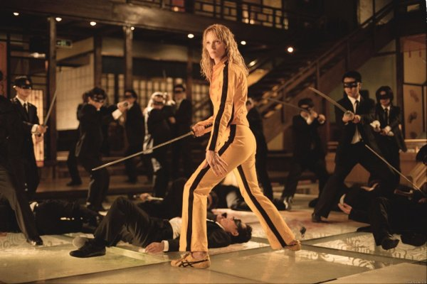 1. Kill Bill Vol. 1 & 2