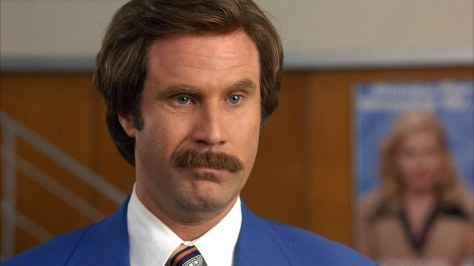 1. Anchorman: The Legend of Ron Burgundy