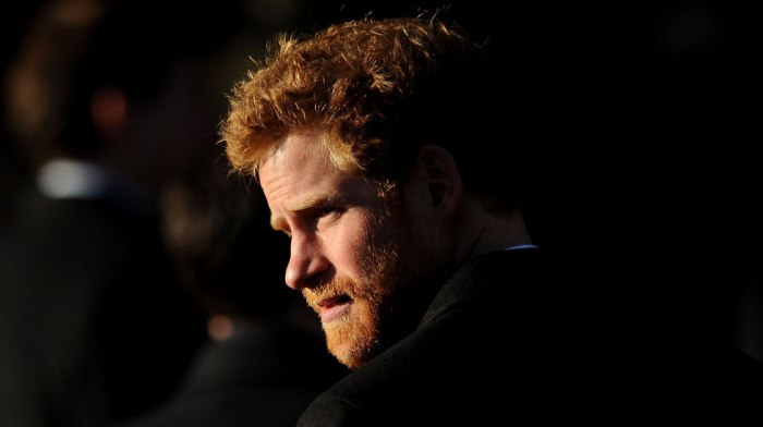 Prince Harry with a beard