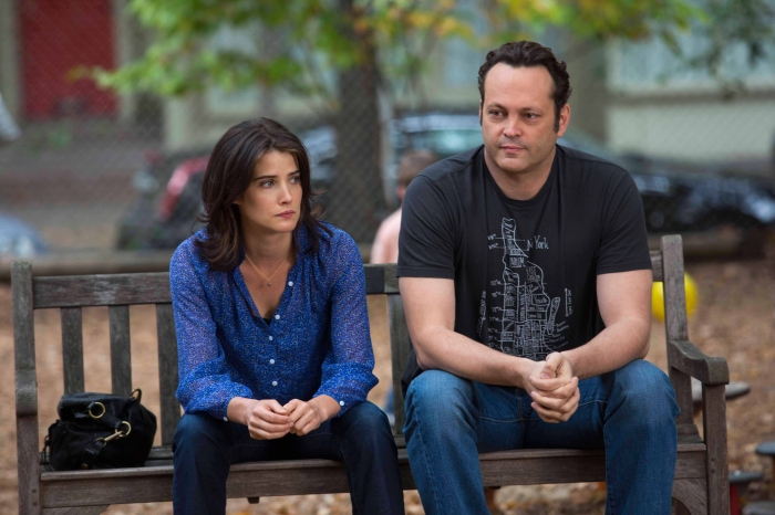 Cobie Smulders and Vince Vaughn, Delivery Man