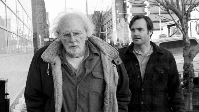 Bruce Dern and Will Forte in Nebraska
