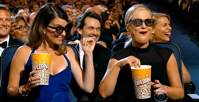 Tina Fey & Amy Poehler at Golden Globes 2013