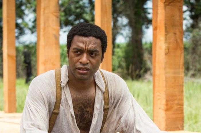Chitwetel Ejiofor, 12 Years A Slave