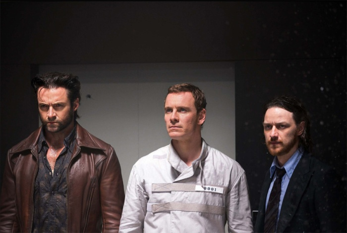 Wolverine, Magneto, Professor Xavier in X-Men: Days of Future Past