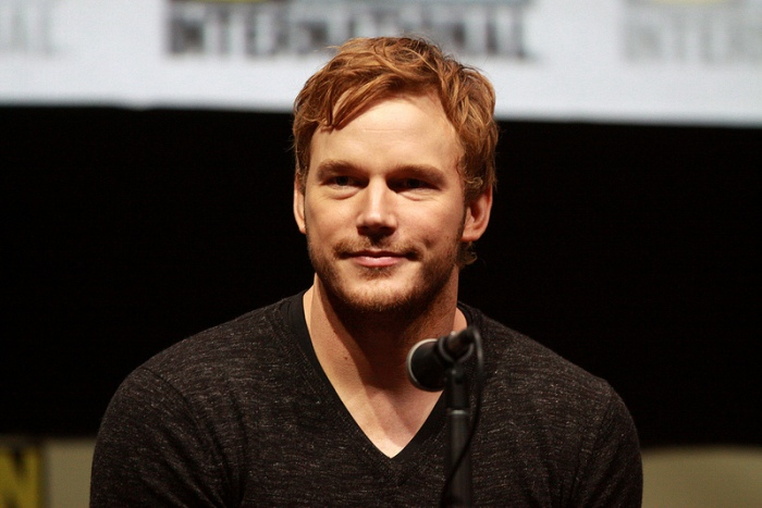 Chris Pratt at 2013 Comic-Con