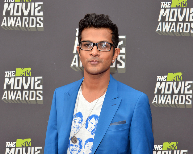 Utkarsh Ambudkar at MTV Movie Awards 2013