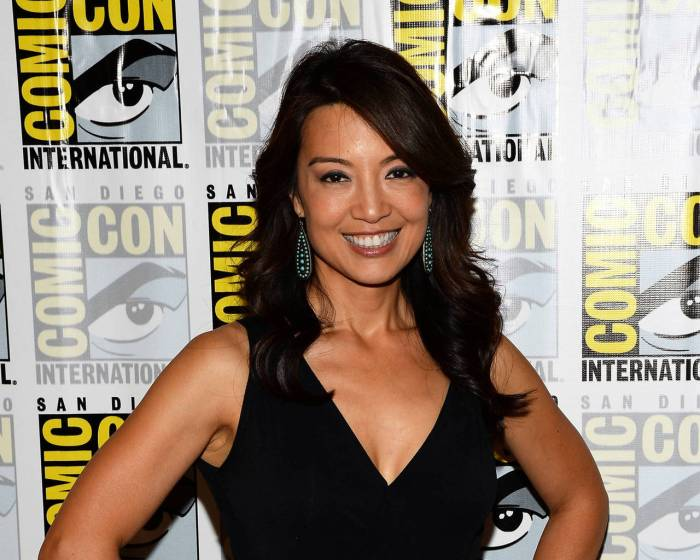 Ming-Na Wen at Comic Con