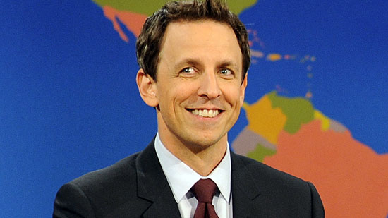 Seth Meyers, Weekend Update