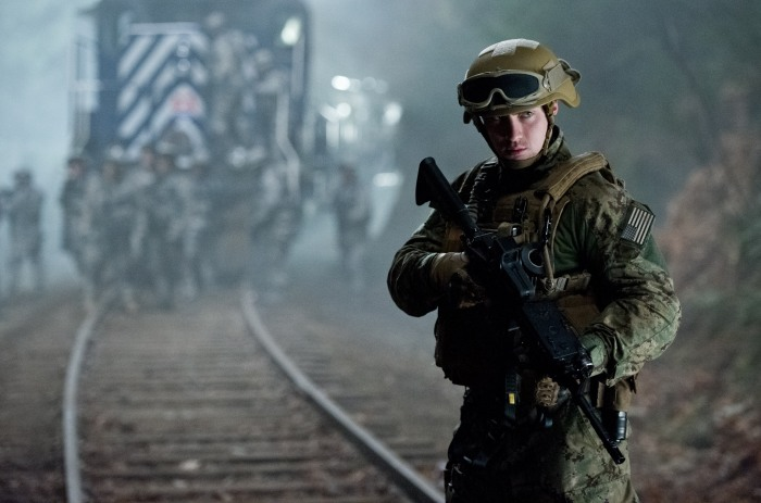 Aaron Taylor-Johnson in Godzilla 2014