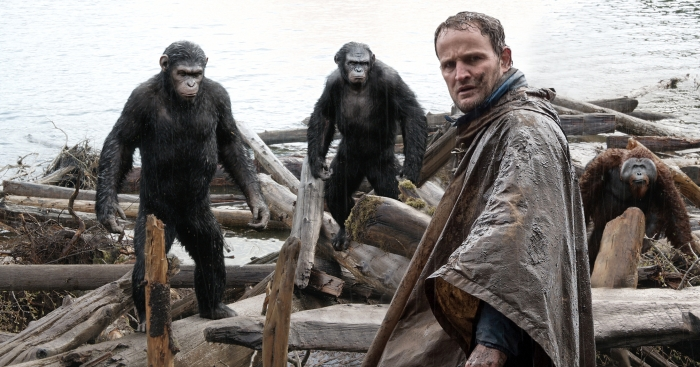 Dawn of the Planet of the Apes 2014 movie still