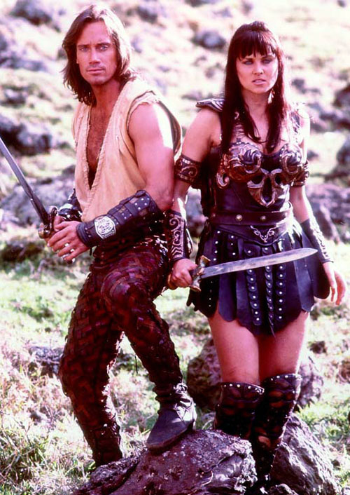 Hercules on Xena Warrior Princess