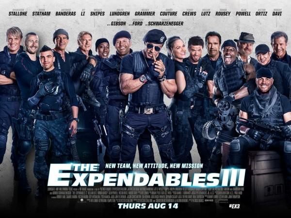 Poster Los Indestructibles 3