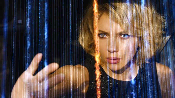 Lucy starring Scarlett Johansson