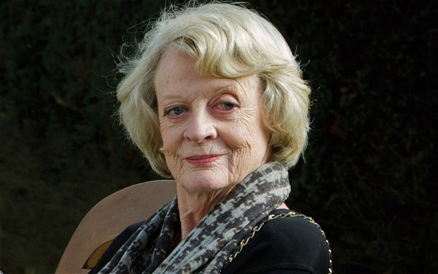 Maggie Smith is awesome
