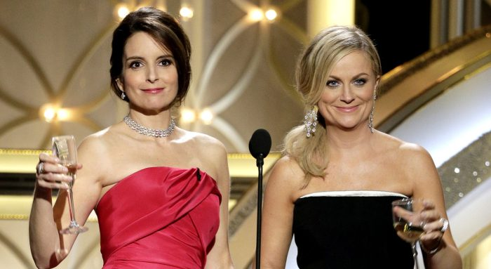 Tina and Amy at 2014 Golden Globes