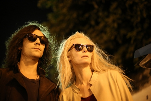 Tom Hiddleston & Tilda Swinton in Only Lovers Left Alive