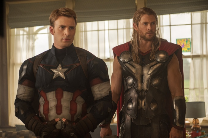 Captain America and Thor - Age of Ultron