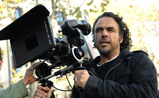 Inarritu filming Birdman