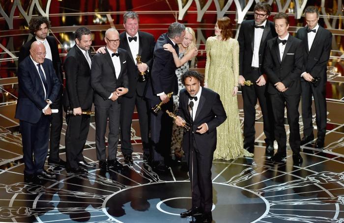 Oscars 2015 - Birdman Wins