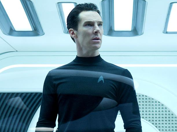 Benedict Cumberbatch as Khan