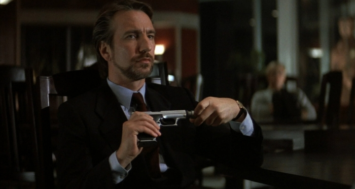 Alan Rickman as Hans Gruber