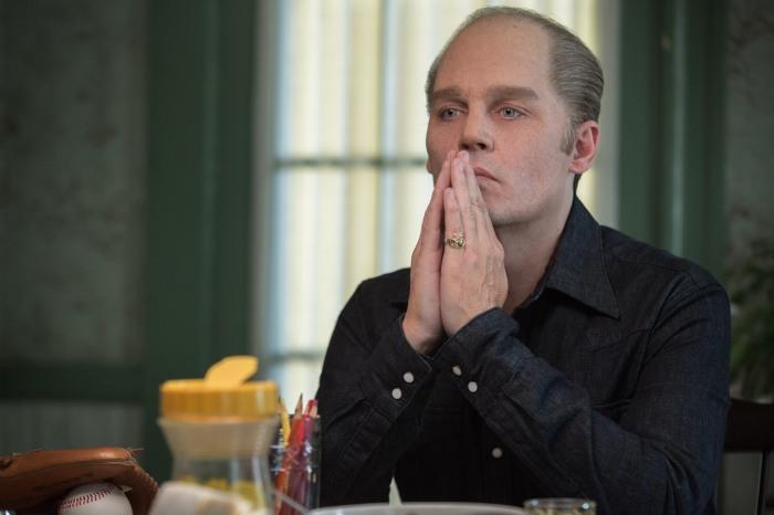 """Black Mass starring Johnny Depp as James """"Whitey"""" Bulger"""