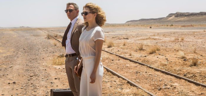daniel craig and lea seydoux in spectre