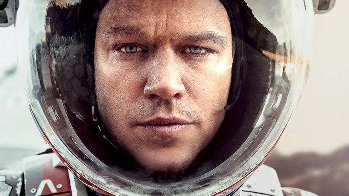 Matt Damon in 2015's The Martian
