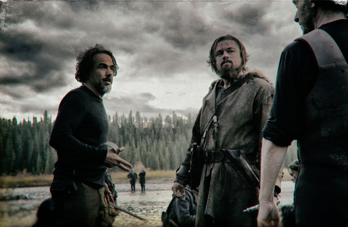 Alejandro Gonzalez Inarritu directs The Revenant