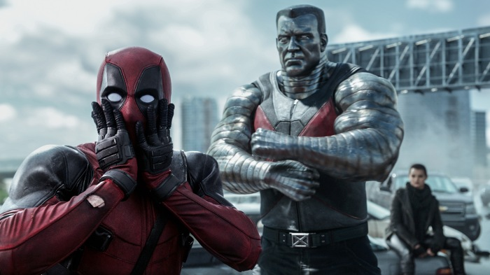 Deadpool and Colossus in Deadpool 2016