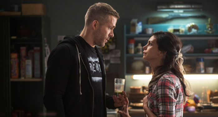 Ryan Reynolds and Morena Baccarin in Deadpool 2016