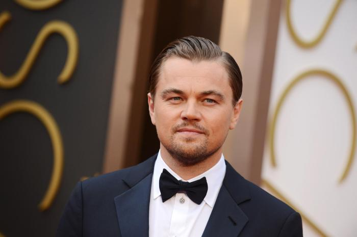 Leonardo DiCaprio at the 88th Annual Academy Awards