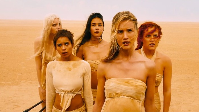The wives in Mad Max: Fury Road
