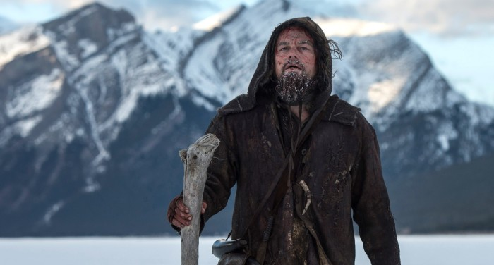 Leo DiCaprio in The Revenant
