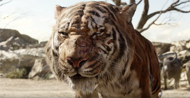 The Jungle Book 2016 - Idris Elba as Shere Khan