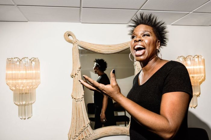 Comedian Leslie Jones