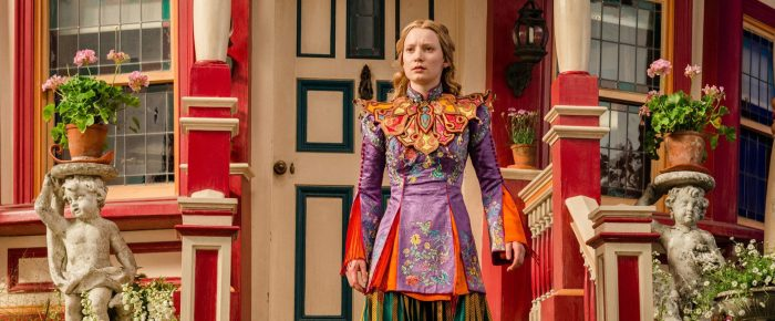 Mia Wasikowska in Alice Through the Looking Glass (2016)
