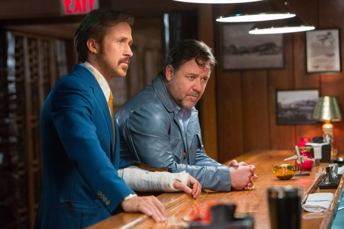 Ryan Gosling and Russell Crowe in The Nice Guys (2016)