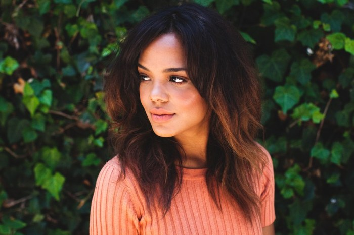 Actress Tessa Thompson