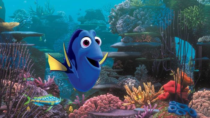 Movie still of Finding Dory (2016)