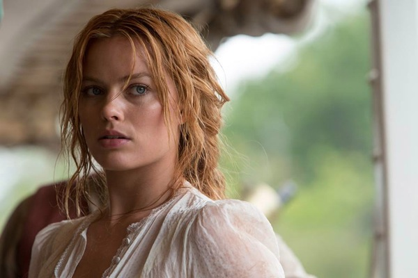 Margot Robbie as Jane in The Legend of Tarzan