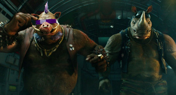Bebop and Rocksteady in TMNT 2