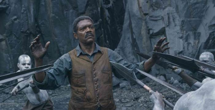Samuel L. Jackson in The Legend of Tarzan