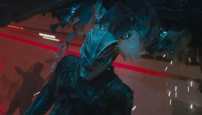 Idris Elba as Krall in Star Trek Beyond