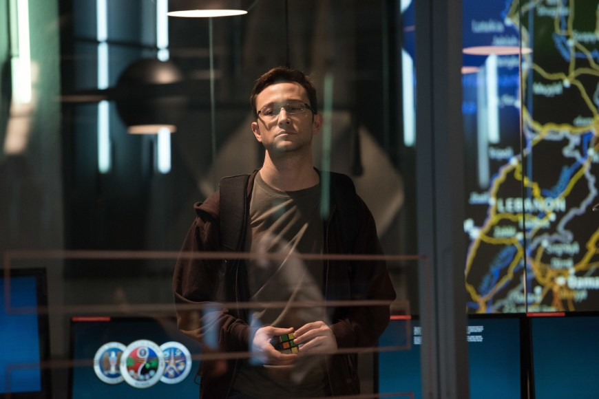 Joseph Gordon-Levitt as Edward Snowden