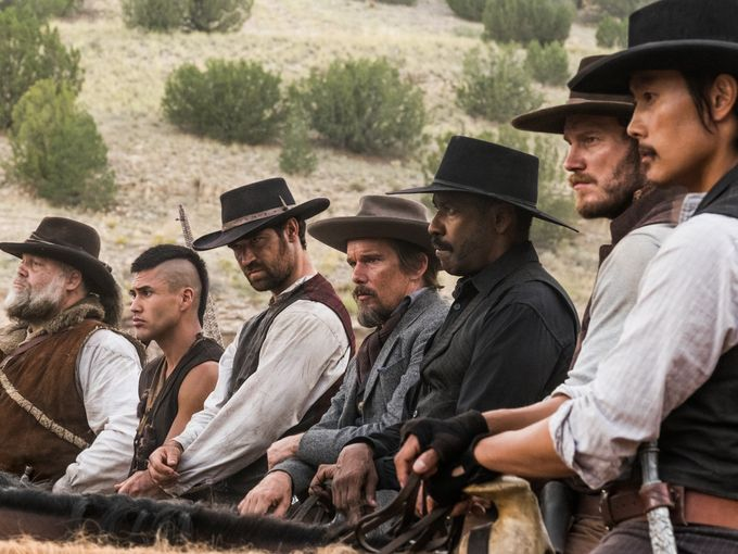 The Magnificent Seven (2016) Cast