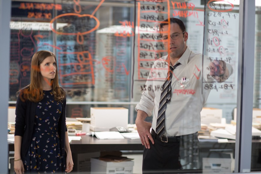 Anna Kendrick and Ben Affleck in The Accountant (2016)